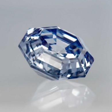 Octagon Fancy Blue Diamond
